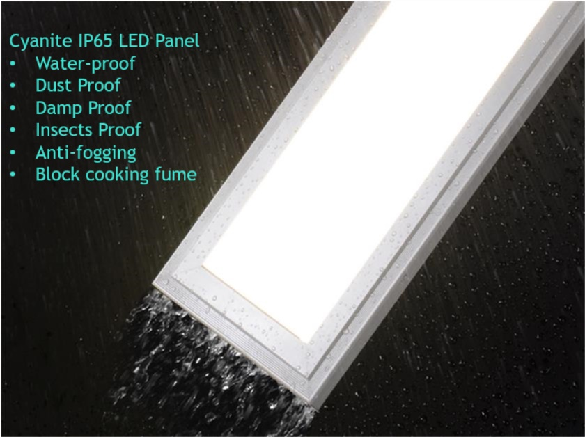 Cyanlite IP65 LED Panel Light Waterproof