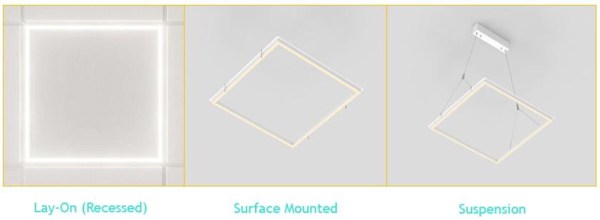 Cyanlite LED Frame Panel Glam series Installation