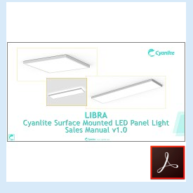 Cyanlite LIBRA Surface Mounted Luminaire Sales Manual