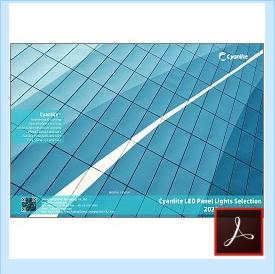 Cyanlite LED panel light selection guide download
