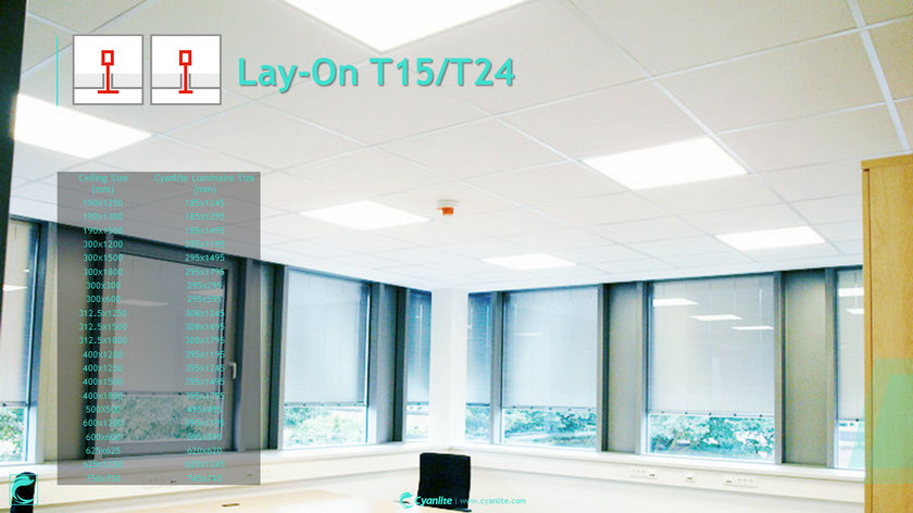 Cyanlite LED Panel for Metal Ceilings Overview