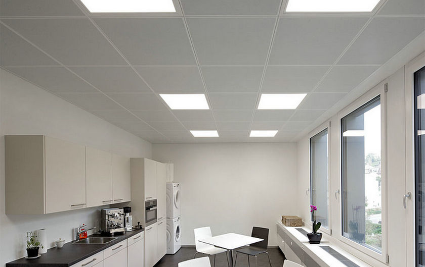 Clip In metal ceiling project in Germany