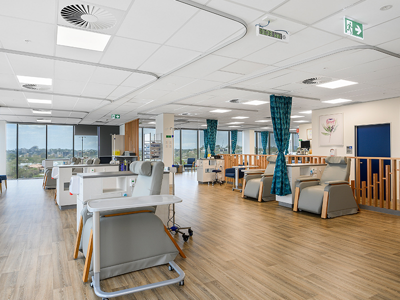 IP65 LED panel project in German hospital